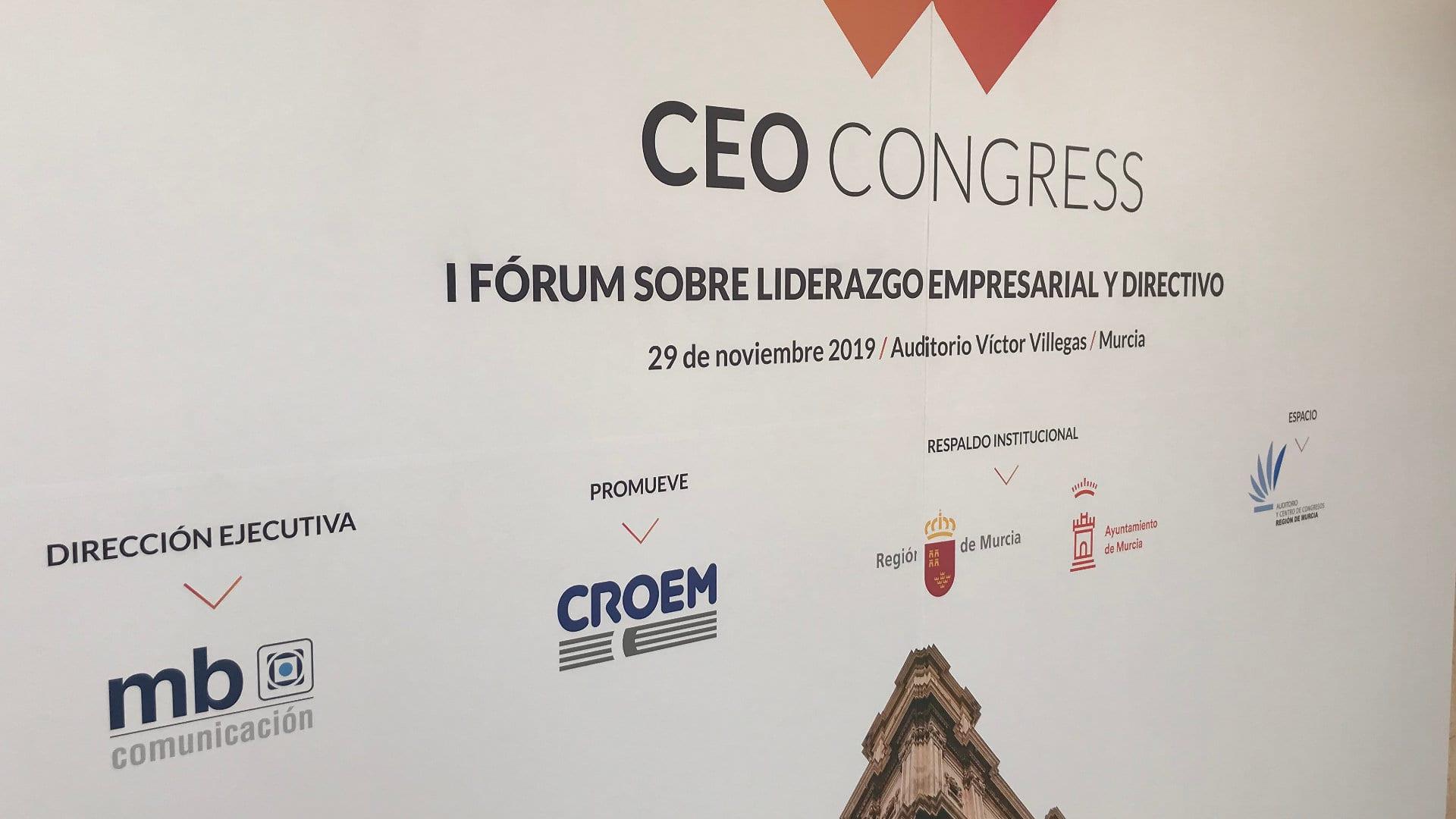Nota de prensa de presentación del CEO CONGRESS Murcia 2019