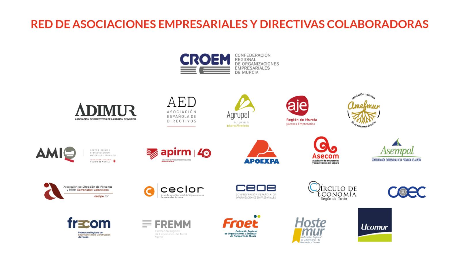 CROEM A LA CABEZA DE LA RED DE ASOCIACIONES EMPRESARIALES Y DIRECTIVAS COLABORADORAS